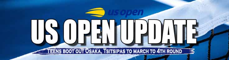 US Open 2021 Update Teens Boot Out Osaka Tsitsipas to March to 4th Round