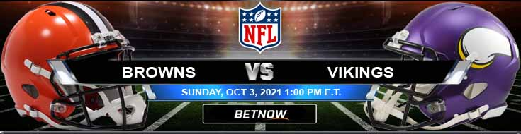Wagering Tips for Sunday's Football Game Between Cleveland and Minnesota 10-03-2021