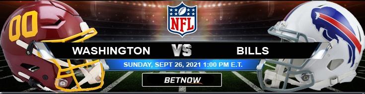 Washington Football Team vs Buffalo Bills 09-26-2021 Sunday's Best Predictions at Highmark Stadium