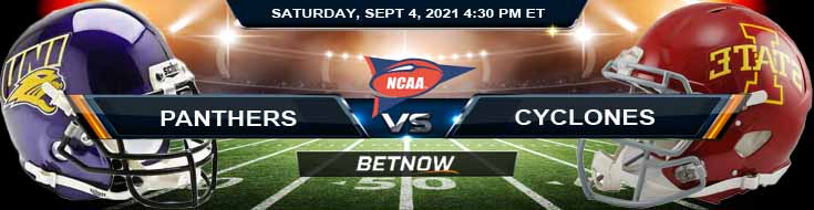 Week 1 Preview for NCAAF Game Between Northern Iowa Panthers vs Iowa State Cyclones 09-04-2021 at Jack Trice Stadium
