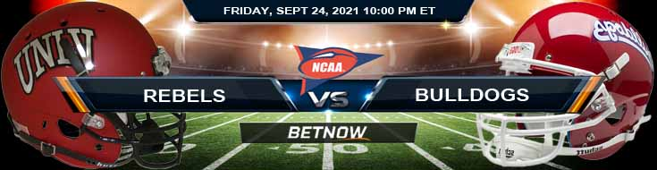 Week 4 Betting Game Analysis on Rebels and Bulldogs 09-24-2021 at Carrier Dome