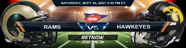 Week 4 of College Football's Betting Forecast Colorado State Rams vs Iowa Hawkeyes 09-25-2021