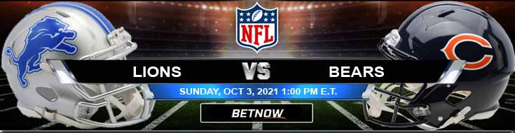 Week 4's Best Betting Spread for Lions and Bears 10-03-2021 at Soldier Field