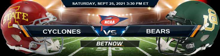 Week 4's Game Analysis for Iowa State Cyclones vs Baylor Bears 09-25-2021 Match on Saturday