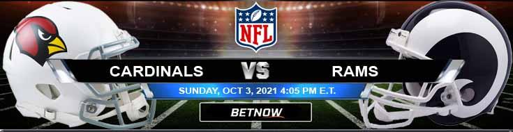 Arizona Cardinals vs Los Angeles Rams 10/03/2021 NFL Analysis, Tips and Football Betting