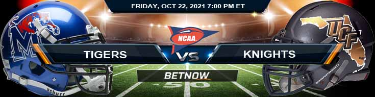 Best College Football Betting Preview Memphis Tigers vs UCF Knights 10-22-2021