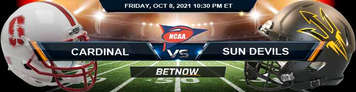 Best College Football Betting Preview for Stanford Cardinal vs Arizona State Sun Devils 10-08-2021