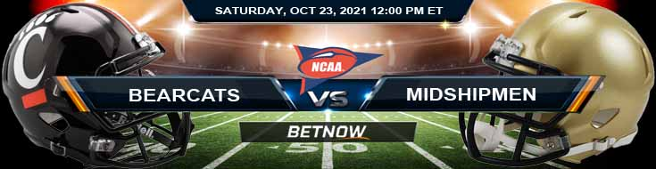 BetNow's Top Betting Tips for Saturday's Game Between Cincinnati and Navy 10-23-2021