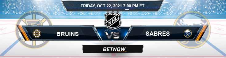 Boston Bruins vs Buffalo Sabres 10-22-2021 Forecast Analysis and Odds