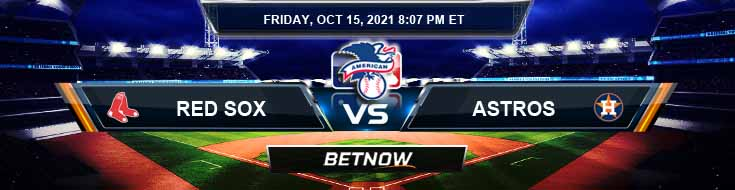 Boston Red Sox vs Houston Astros 10-15-2021 American League Division Series Game 1 Analysis