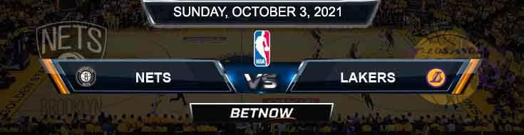 Brooklyn-Nets-vs-Los-Angeles-Lakers-10-03-2021-NBA-Picks-and-Previews