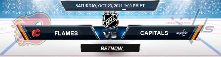 Calgary Flames vs Washington Capitals 10-23-2021 Analysis Hockey Odds and Picks