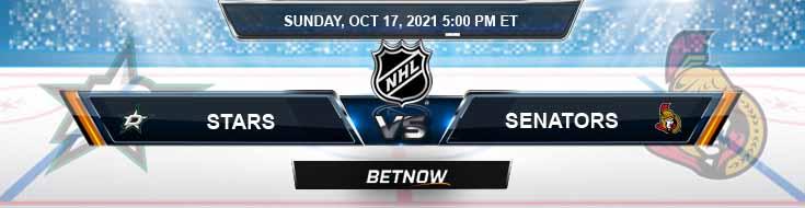 Dallas Stars vs Ottawa Senators 10-17-2021 Game Analysis Tips and Hockey Forecast