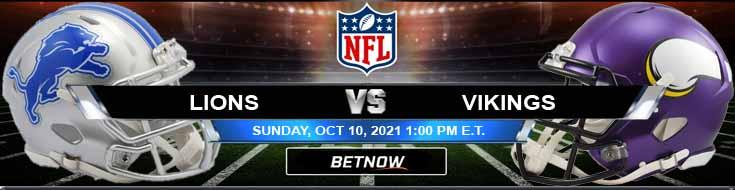 Detroit Lions vs Minnesota Vikings 10-10-2021 Picks Forecast and Analysis