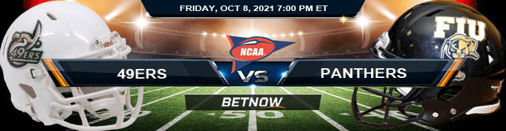 Friday Night Wagering Picks for the Charlotte 49ers vs FIU Panthers 10-08-2021 NCAA Football Match