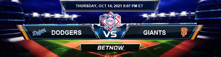 Los Angeles Dodgers vs San Francisco Giants 10-14-2021 National League Division Series Game 5 Spread