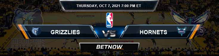 Memphis Grizzlies vs Charlotte Hornets 10-7-2021 Odds Picks and Previews