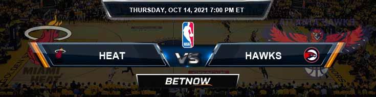 Miami Heat vs Atlanta Hawks 10-14-2021 Odds Picks and Game Analysis