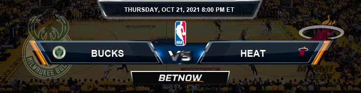 Milwaukee Bucks vs Miami Heat 10-21-2021 NBA Picks and Game Analysis