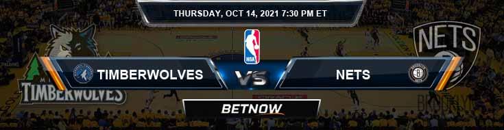 Minnesota Timberwolves vs Brooklyn Nets 10-14-2021 NBA Picks and Previews