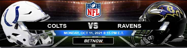 Monday Night Best Football Bets for Week 5 Indianapolis Colts vs Baltimore Ravens 10-11-2021