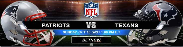 New England Patriots vs Houston Texans 10-10-2021 Analysis Predictions and Picks
