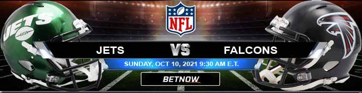 New York Jets vs Atlanta Falcons 10-10-2021 Forecast NFL Predictions and Tips