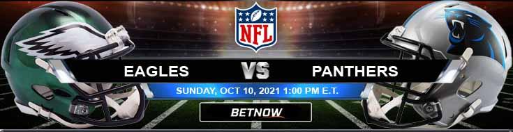 Philadelphia Eagles vs Carolina Panthers 10-10-2021 Odds Forecast and Analysis