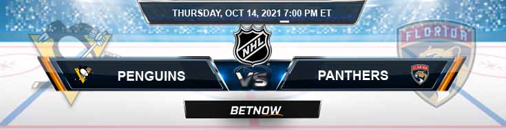 Pittsburgh Penguins vs Florida Panthers 10-14-2021 Predictions Hockey Preview and Spread