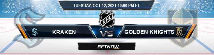 Seattle Kraken vs Vegas Golden Knights 10-12-2021 Odds Picks and Predictions