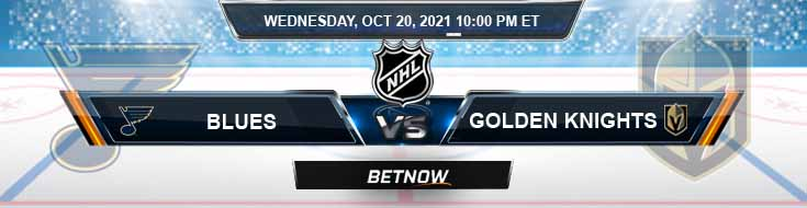 St. Louis Blues vs Vegas Golden Knights 10-20-2021 Game Analysis Tips and Hockey Forecast