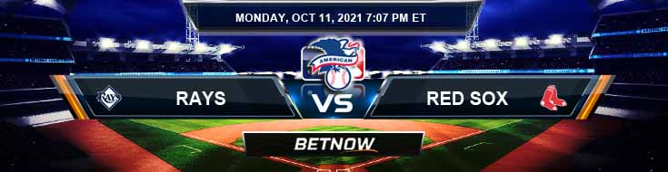 Tampa Bay Rays vs Boston Red Sox 10-11-2021 American League Division Series Game 4 Forecast