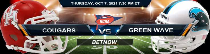 Thursday's Best Bets for the Game Between Cougars and Green Wave 10-07-2021