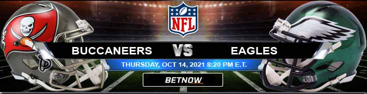Top Betting Odds for Thursday Night's Game Between Tampa Bay and Philadelphia 10-14-2021