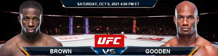 UFC Fight Night 194 Brown vs Gooden 10-09-2021 Picks Predictions and Previews
