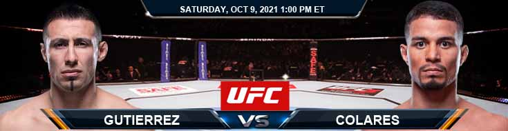 UFC Fight Night 194 Gutierrez vs Colares 10-09-2021 Odds Picks and Predictions