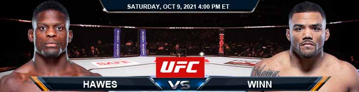 UFC Fight Night 194 Hawes vs Winn 10-09-2021 Fight Analysis Forecast and Tips