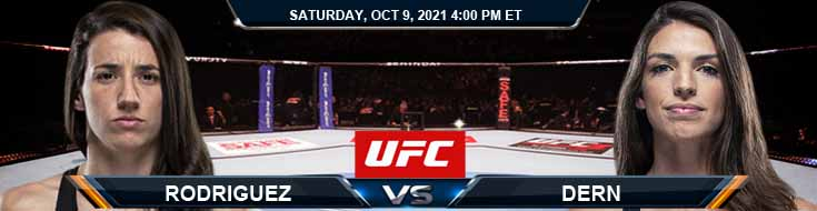 UFC Fight Night 194 Rodriguez vs Dern 10-09-2021 Odds Fight Picks and Predictions