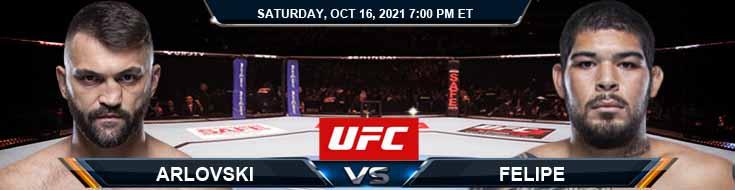 UFC Fight Night 195 Arlovski vs Felipe 10-16-2021 Preview Fight Spread and Analysis