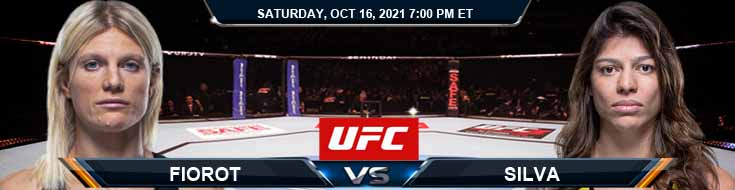 UFC Fight Night 195 Fiorot vs Silva 10-16-2021 Previews Spread and Fight Analysis