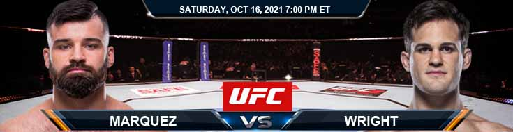 UFC Fight Night 195 Marquez vs Wright 10-16-2021 Spread Fight Analysis and Forecast