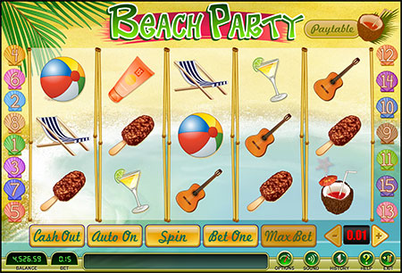Beach Bonus Game