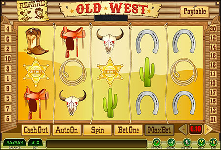 Old West Bonus Game