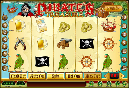 Pirate Bonus Game