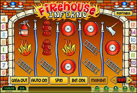 Slot Fire House