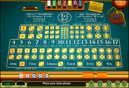 online casino video poker sic bo