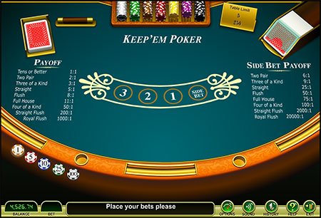 casino table games let it ride