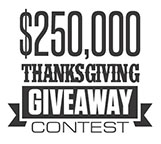 Thanksgiving Giveaway Contest