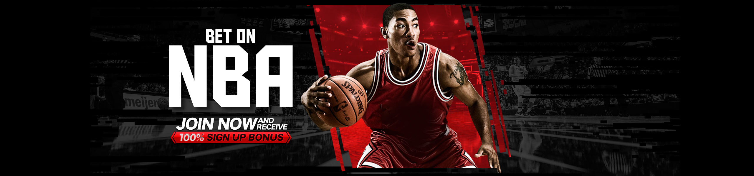 Bet on NBA 100% Bonus